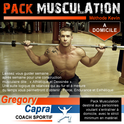 Pack musculation